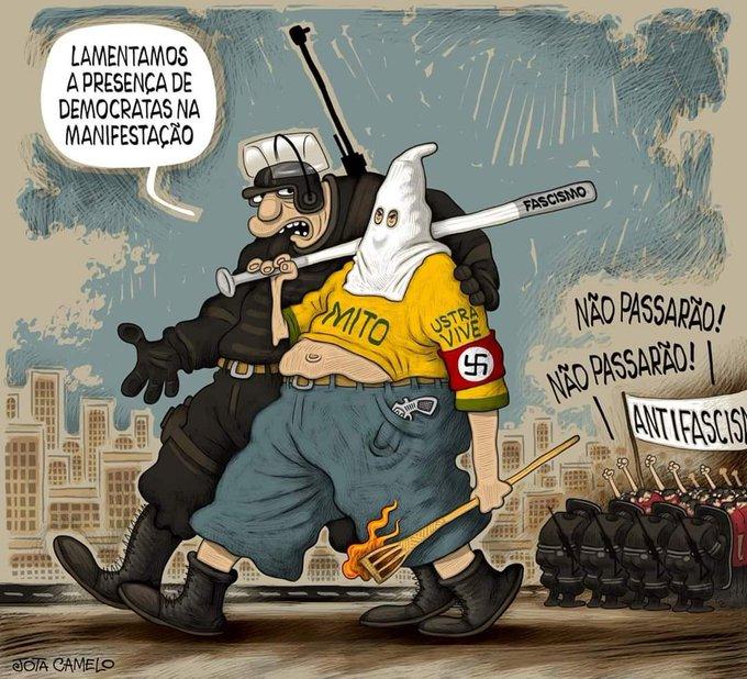 """Dias 522, 523 e 524   """"E a gente chama isso de fascismo não é à toa""""   06,  07 e 08/06/20 – Medo e delírio em Brasília"""